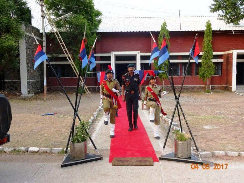 दस दिवसीय संयुक्त वार्षिक प्रशिक्षण शिविर का आयोजन