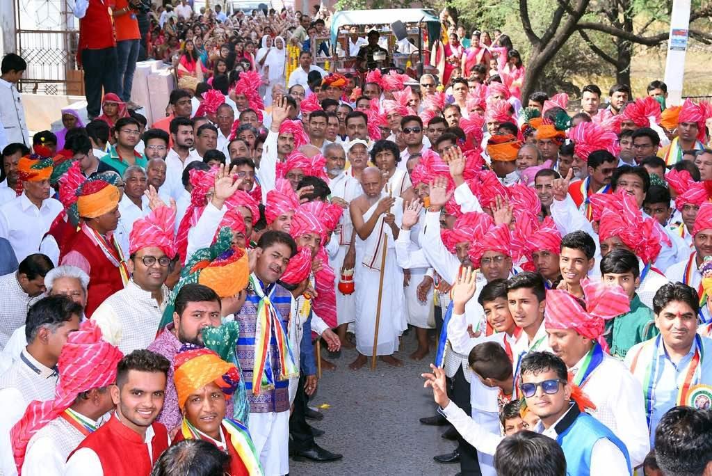अंजनशलाका महोत्सव में उमड़ा जनसैलाब