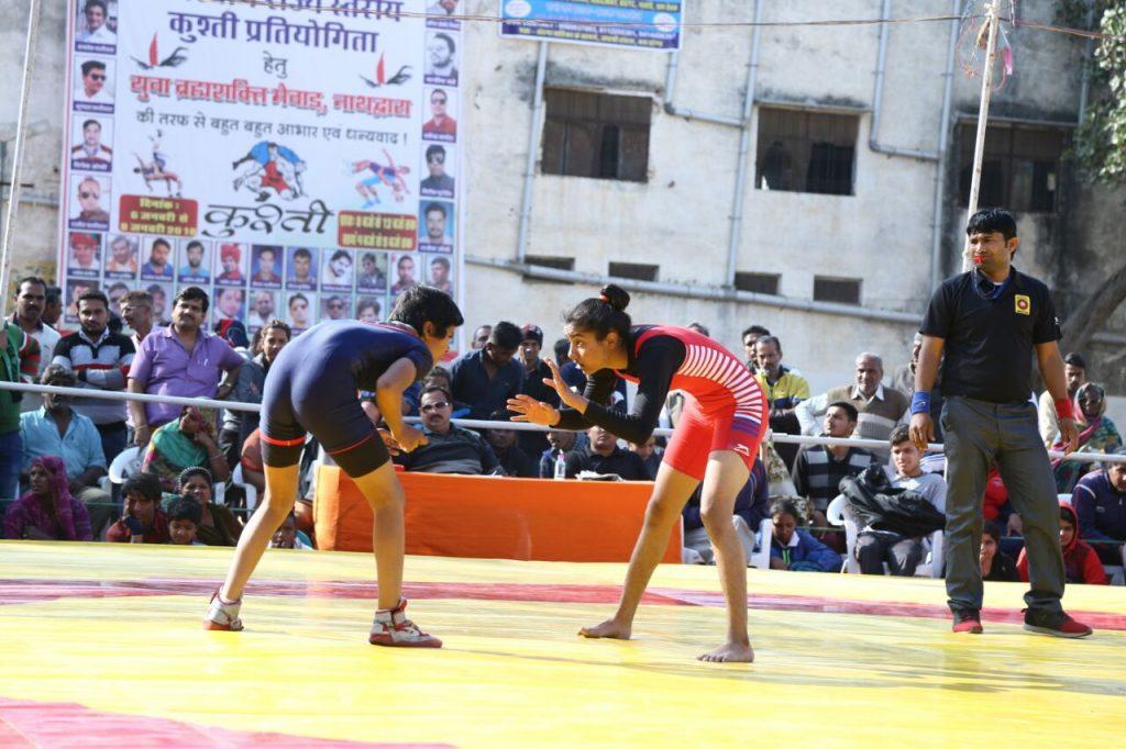 37वीं राजस्थान राज्य जूनियर कुश्ती पुरुष और 20वीं  महिला जूनियर कुश्ती का शुभारंभ
