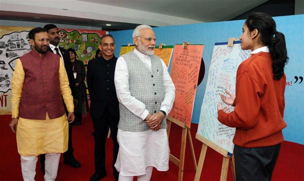 परीक्षा पर चर्चा – छात्रों के साथ प्रधानमंत्री की बातचीत