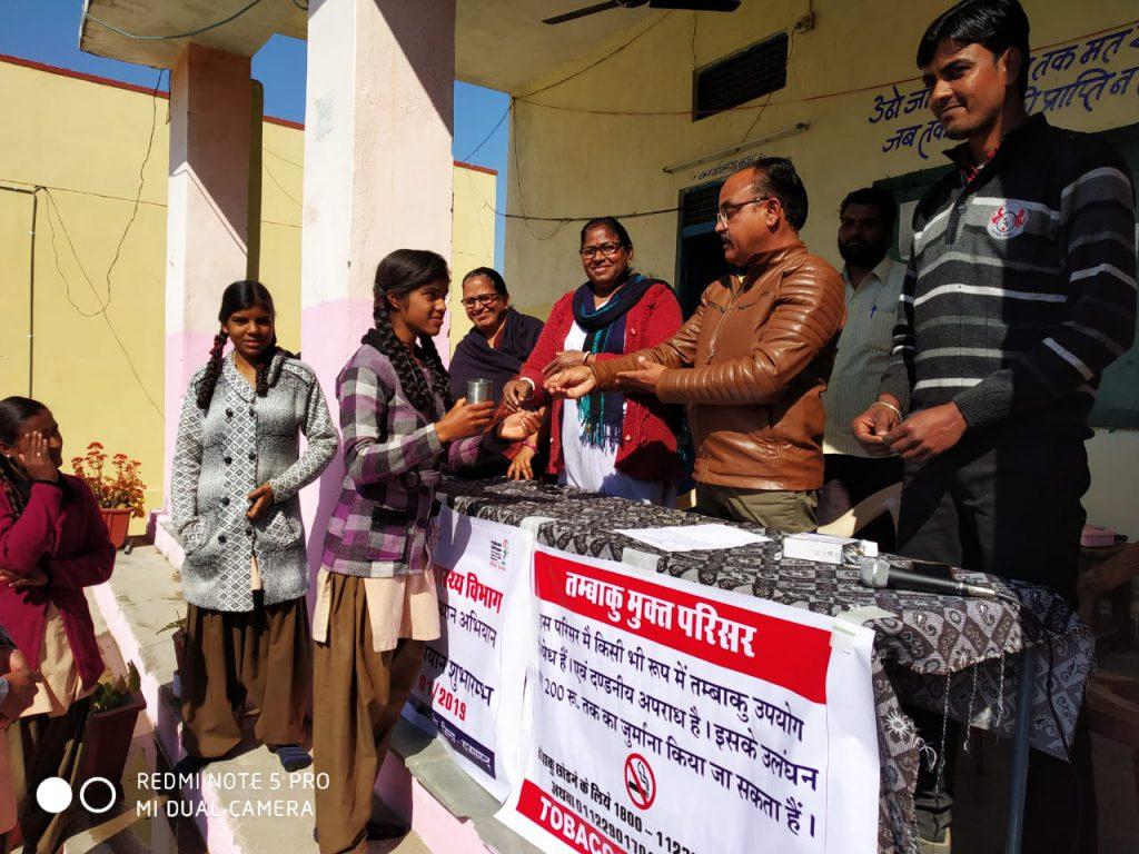 एनिमिया मुक्त राजस्थान अभियान व नशा मुक्ति अभियान का किया शुभारंभ