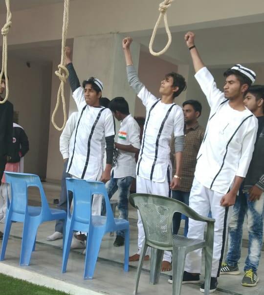 शहीद भगत सिंह की पुण्यतिथि पर मौन रैली व श्रद्धांजलि सभा आयोजित