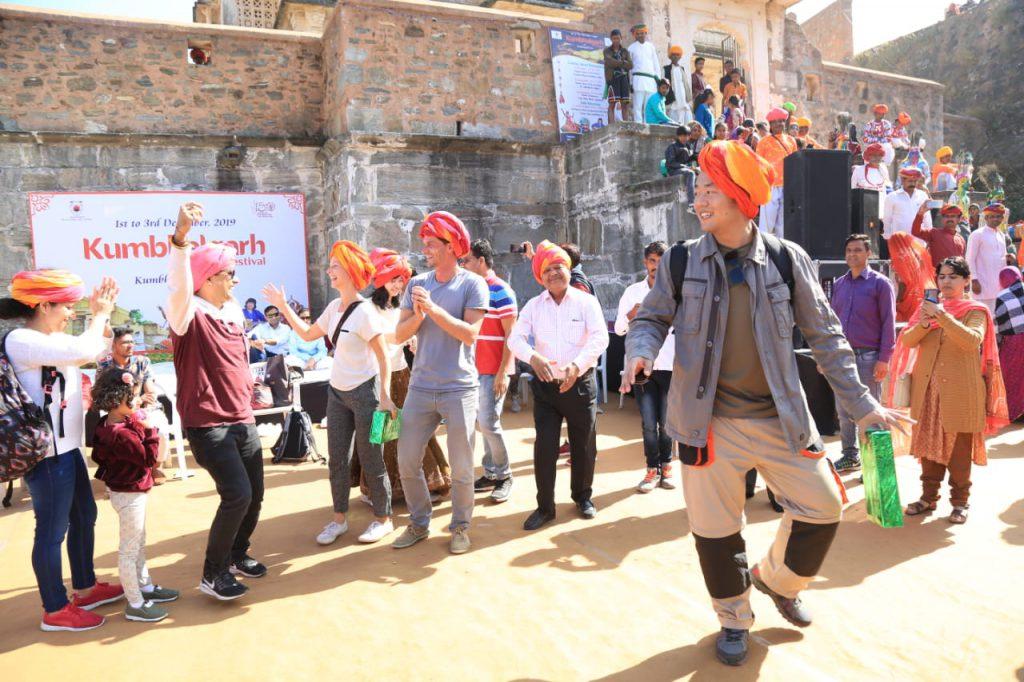 कुम्भलगढ़ महोत्सव में झलकीलोक संस्कृति की झलक