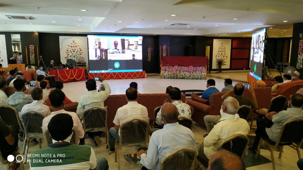 विधानसभा अध्यक्ष डॉ. जोशी एवं ऊर्जा मंत्री डॉ. कल्ला ने किया करोडों रुपये की योजनाओं का वीडियो कान्फ्रेंसिंग के जरिये शिलान्यास