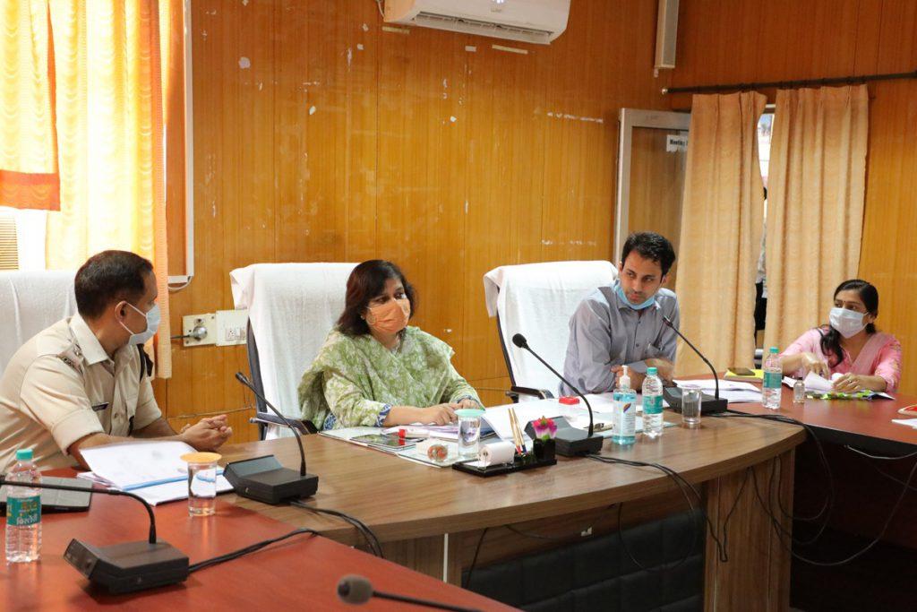 राजसमन्द प्रभारी सचिव ने ली जिला मुख्यालय पर समीक्षा बैठक