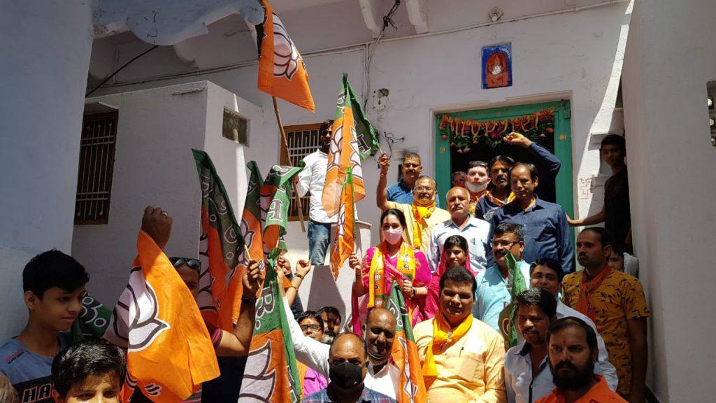 भाजपा में बूथ स्तर तक कार्यकर्ताओं का सम्मान होता है- सांसद दीयाकुमारी